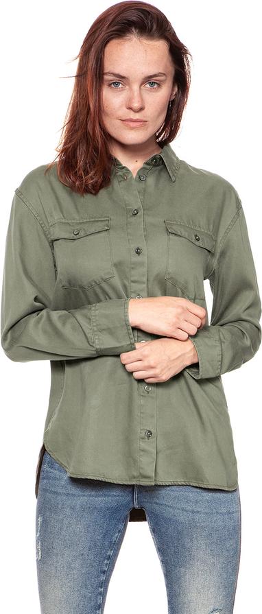 Koszula Wrangler z tkaniny z kołnierzykiem