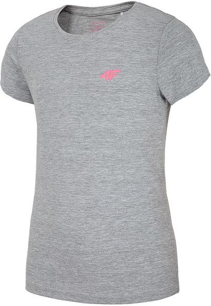 Koszulka dziecięca 4F z tkaniny z krótkim rękawem