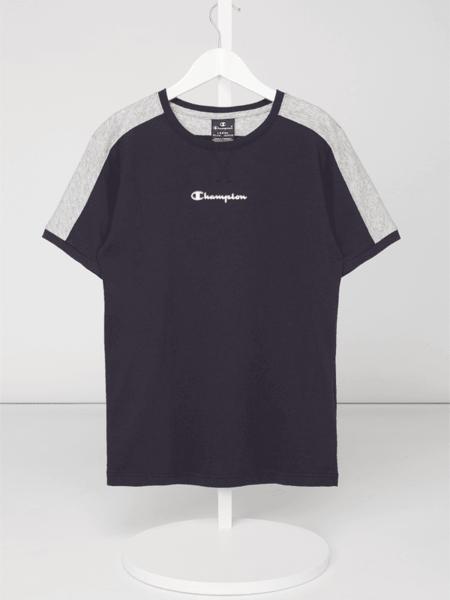 Koszulka dziecięca Champion z krótkim rękawem z bawełny