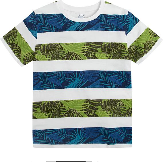 Koszulka dziecięca Cool Club w paseczki dla chłopców