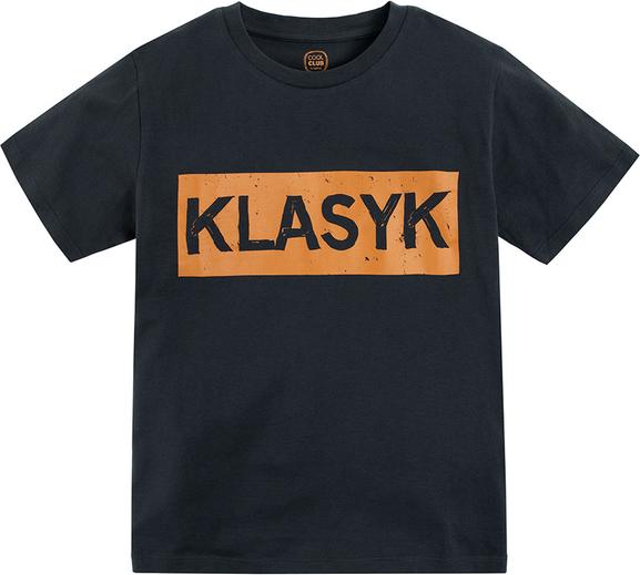 Koszulka dziecięca Cool Club z krótkim rękawem dla chłopców z bawełny