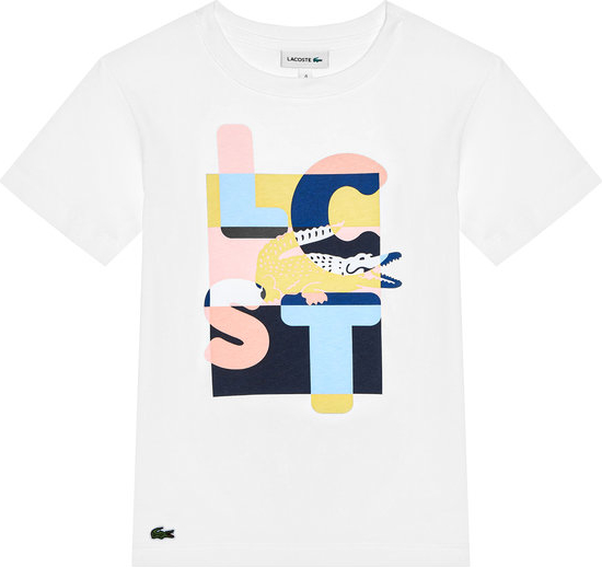 Koszulka dziecięca Lacoste z krótkim rękawem