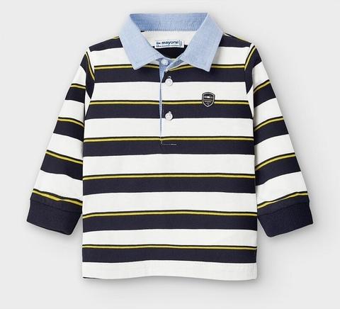Koszulka dziecięca Mayoral w paseczki dla chłopców
