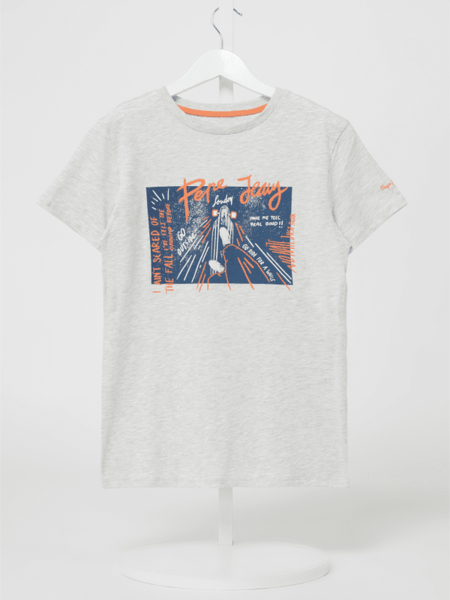 Koszulka dziecięca Pepe Jeans z krótkim rękawem z bawełny dla chłopców