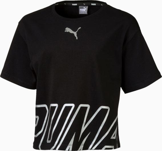 Koszulka dziecięca Puma z bawełny z krótkim rękawem