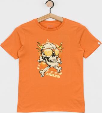 Koszulka dziecięca Quiksilver z bawełny