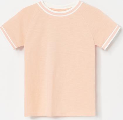 Koszulka dziecięca Reserved z krótkim rękawem z bawełny
