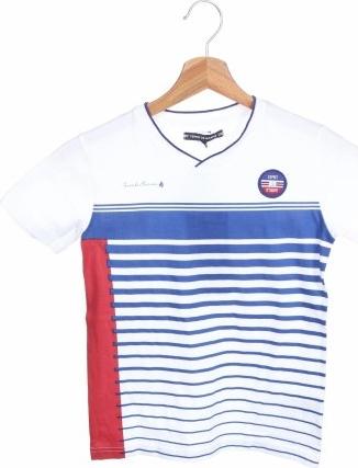 Koszulka dziecięca Terre De Marins z krótkim rękawem
