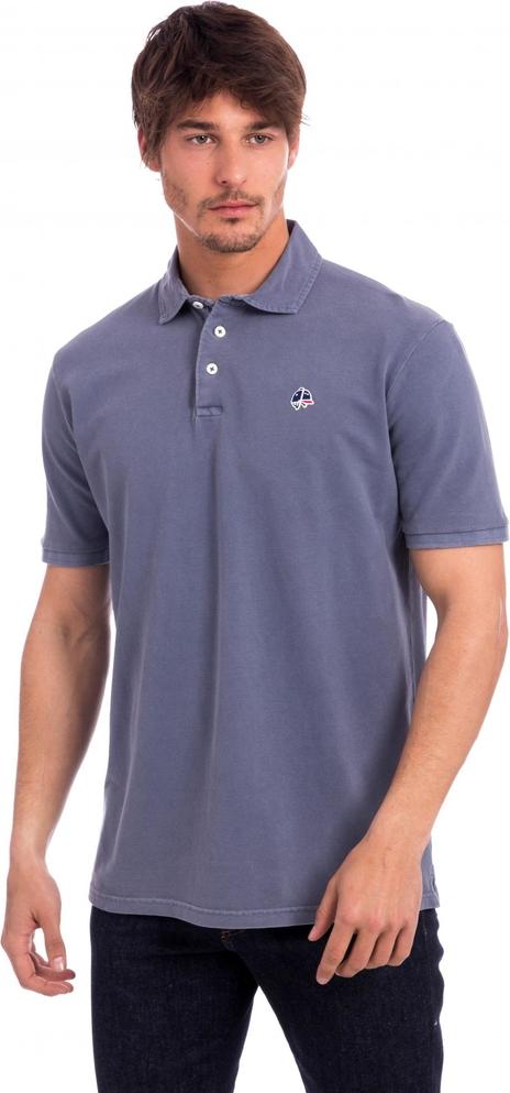 Koszulka polo Polo Club C.h..a w stylu casual z krótkim rękawem