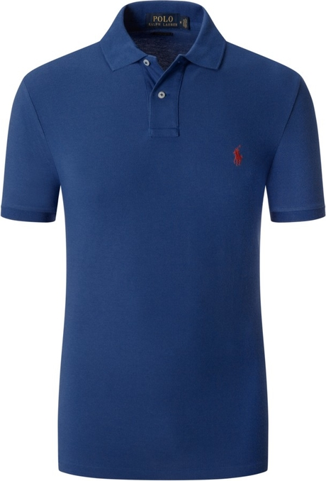 Koszulka polo POLO RALPH LAUREN z krótkim rękawem z bawełny