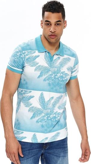 Koszulka polo Top Secret w młodzieżowym stylu z krótkim rękawem