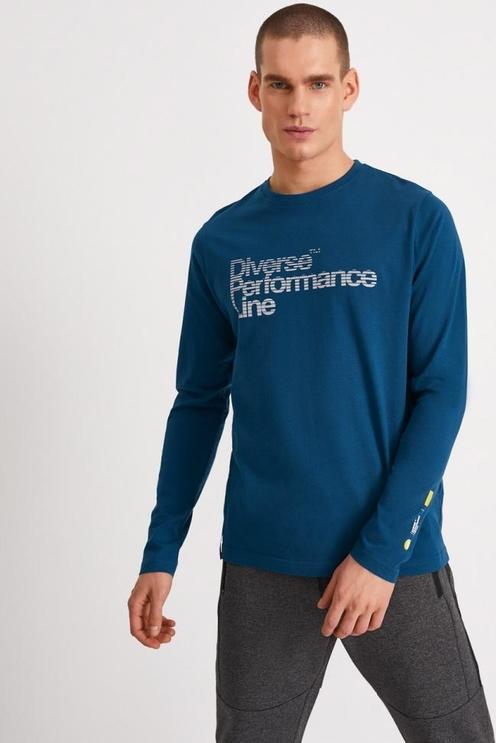 Koszulka z długim rękawem Diverse w młodzieżowym stylu