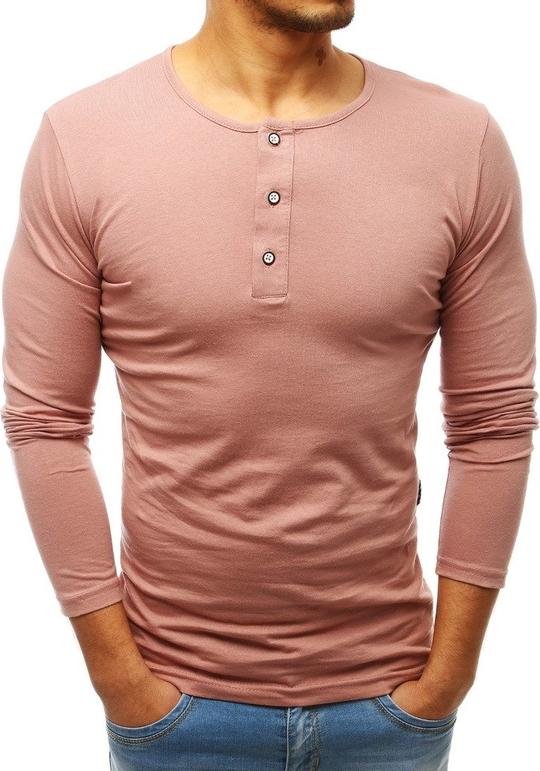 Koszulka z długim rękawem Dstreet w stylu casual z długim rękawem z bawełny