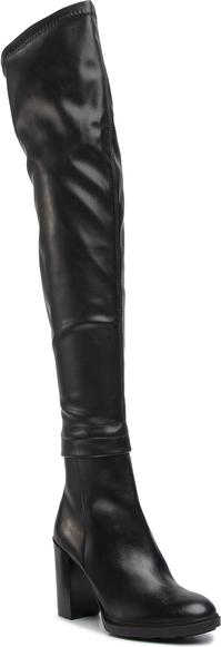 Kozaki Gino Rossi na zamek za kolano na obcasie