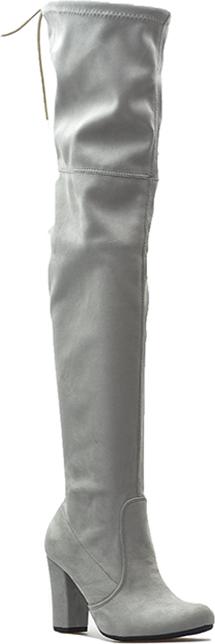 Kozaki Veronna z zamszu za kolano