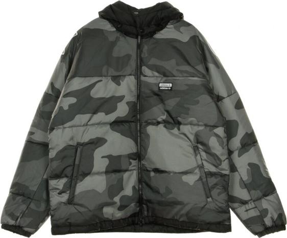Kurtka Adidas w militarnym stylu krótka