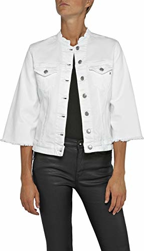 Kurtka amazon.de w stylu casual krótka z jeansu