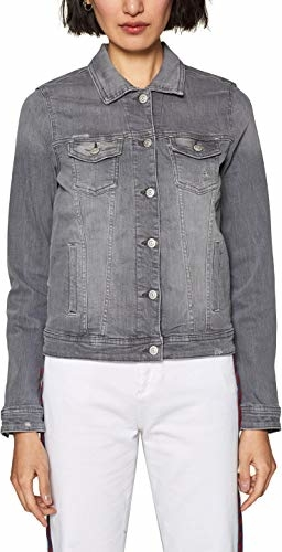 Kurtka amazon.de z jeansu w stylu casual
