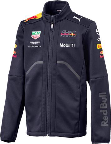 Kurtka dziecięca Red Bull Racing F1 Team z tkaniny