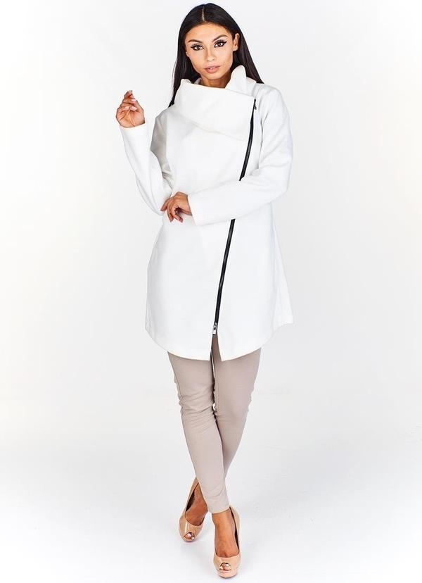 Kurtka Fokus długa w stylu casual