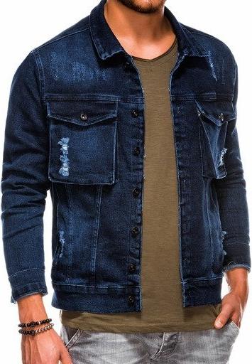 Kurtka Ombre z jeansu