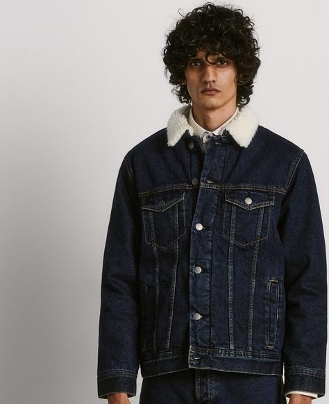 Kurtka Reserved w stylu casual z jeansu