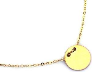 Lovrin Złoty naszyjnik 585 łańcuszek celebrytka kółeczko 1,30 g