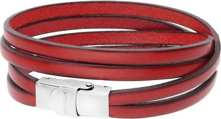 manoki.pl BA337R czerwona, naturalna męska bransoletka