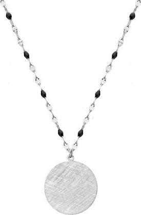 Manoki WA470 naszyjnik medalion drapany