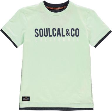 Miętowa koszulka dziecięca SoulCal