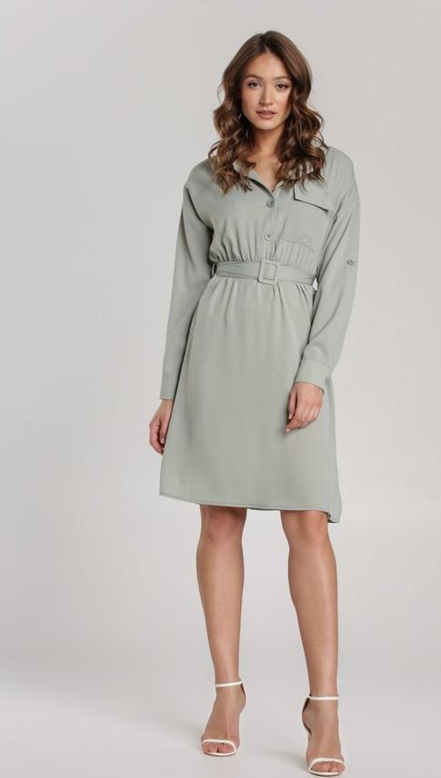 Miętowa sukienka Renee mini