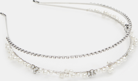 Mohito - Ozdobna opaska na włosy - Srebrny