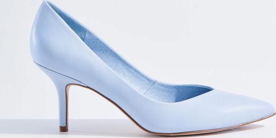 Mohito - szpilki z noskiem w szpic - niebieski