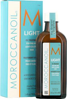 MoroccanOil Oil Treatment Light Naturalny olejek arganowy do włosów cienkich i delikatnych 200ml
