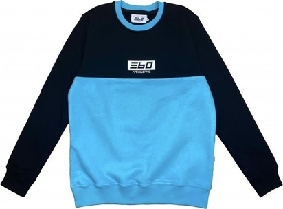 Niebieska bluza 360 Clothing z bawełny
