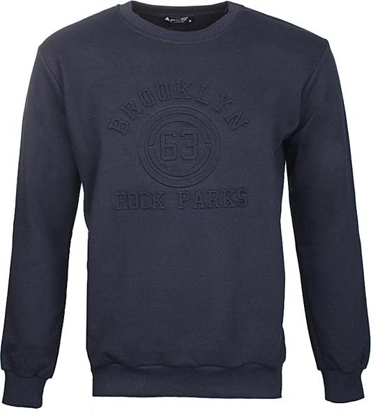 Niebieska bluza ACS z dresówki