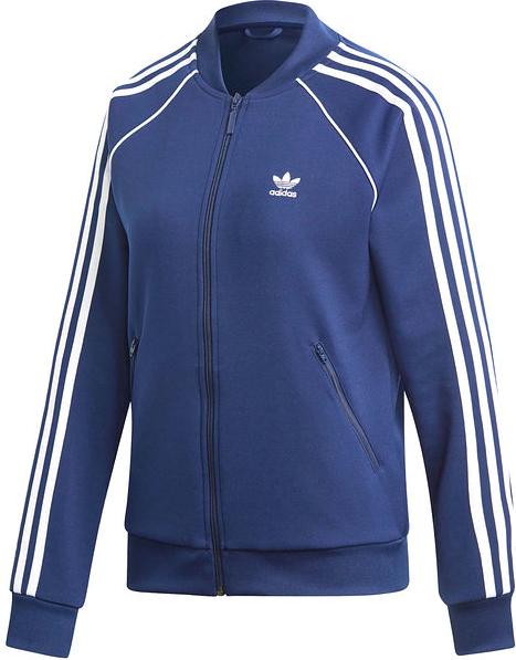 Niebieska bluza Adidas Originals z dresÓwki Odzież Damskie