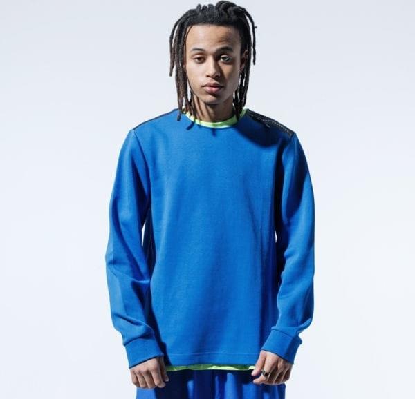 Niebieska bluza Confront
