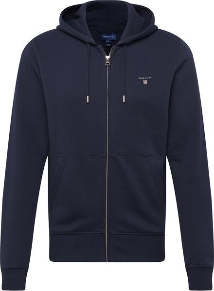 Niebieska bluza Gant z bawełny w stylu casual
