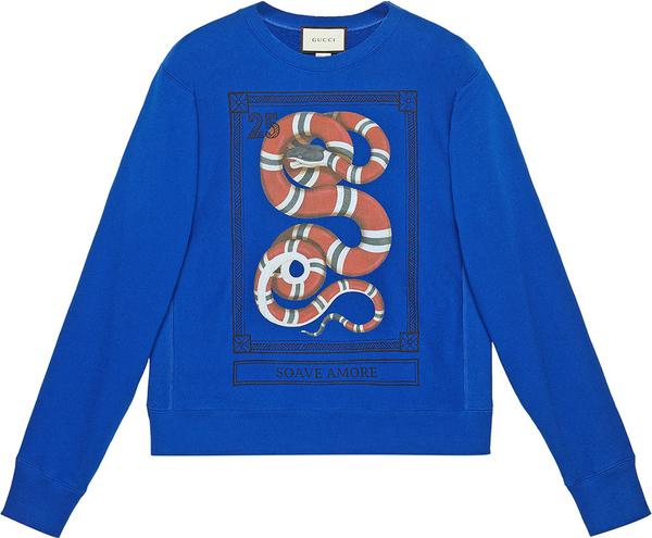 479e20bfcd5cf Bluza Gucci z bawełny