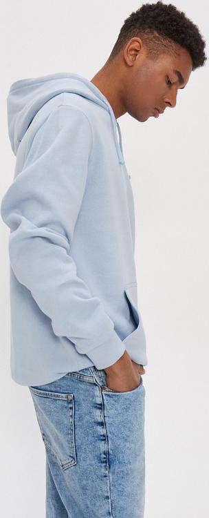 Niebieska bluza House z bawełny