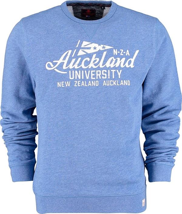 Niebieska bluza New Zealand Auckland