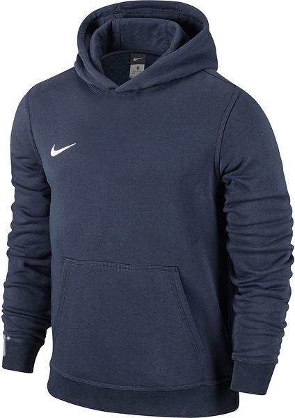 Niebieska bluza Nike z bawełny