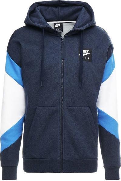Niebieska bluza Nike z bawełny w street stylu