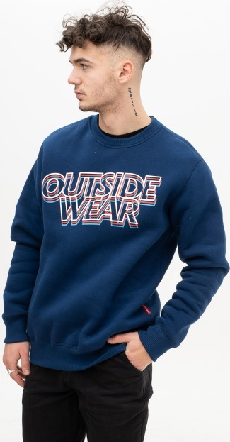 Niebieska bluza Outsidewear