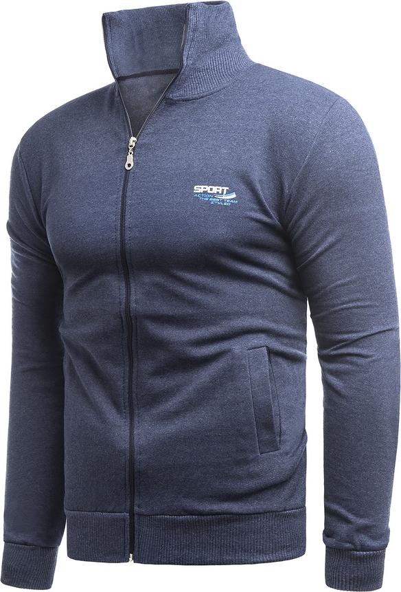 Niebieska bluza Risardi z plaru