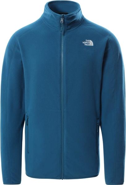 Niebieska bluza The North Face w sportowym stylu z plaru