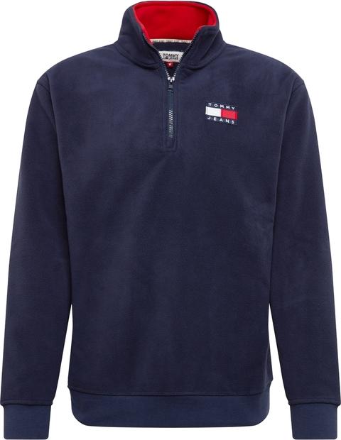 Niebieska bluza Tommy Jeans z tkaniny