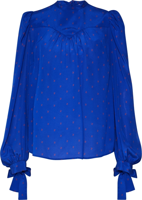 Niebieska bluzka Custommade