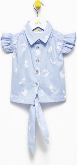 Niebieska bluzka dziecięca Banana Kids
